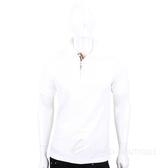 BURBERRY 格紋開襟棉質短袖Polo衫(白色) 1840471-20