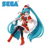 【日本正版】初音未來 SPM 2018聖誕 Ver. 公仔 模型 17cm MIKU 初音 SEGA - 936799