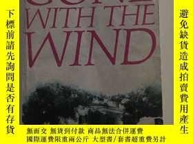 二手書博民逛書店gone罕見with the wind(《飄》)【英文版,國內印