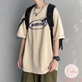 大碼加大t恤男短袖印花運動大碼寬松打底衫【大碼百分百】