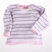 百貨專櫃正品 條紋肩開針織毛線上衣 嬰幼兒童裝  魔法Baby