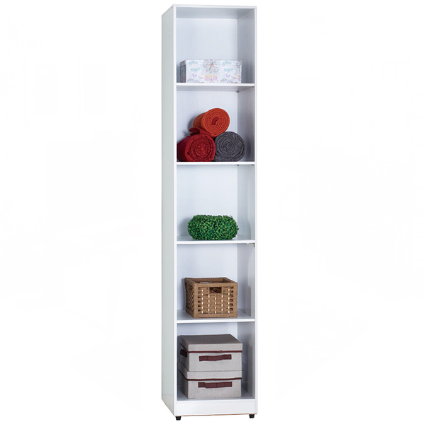 凱倫白色1.3尺開放隔板衣櫃(18JF/070-2)/H&D東稻家居