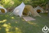 丹大戶外【Lotus Belle】英國 4米蓮花-前庭遮陽篷
