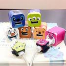 PGS7 迪士尼系列商品 - 迪士尼 系列 豆腐 插頭 充電 插頭 裝飾 貼紙 iphone 熊抱哥 史迪奇【SPP7390】