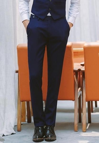 找到自己品牌 韓國男 四件式西裝外套 修身西裝 成套西裝 西裝外套 外套+背心+褲子+襯衫