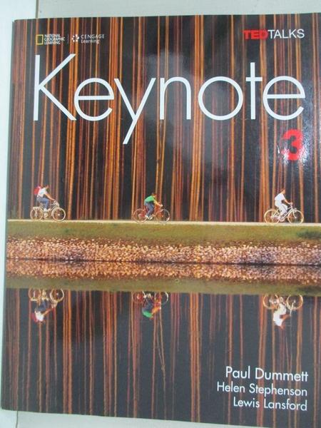 【書寶二手書T1/原文書_EVK】Keynote 3_Dummett, Paul/ Stephenson