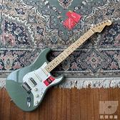 【凱傑樂器】Fender 美廠 American Pro Stratocaster HSS 電吉他 橄欖綠 分期免運
