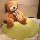 圓形地毯臥室客廳兒童吊籃電腦椅地墊吊椅墊子茶幾毯床邊簡約家用 618購物節 YTL