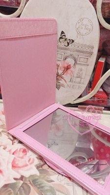 小花花日本精品美樂蒂坐姿粉色立鏡桌鏡鏡子化妝鏡小NG賠售33215204