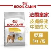*KING WANG*法國皇家《皮膚保健中型成犬乾糧DMM》3kg/包