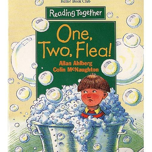 【Reading Together】One, Two, Flea!(1Book + 1CD)