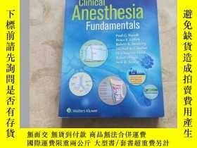 二手書博民逛書店Clinical罕見Anesthesia Fundamental