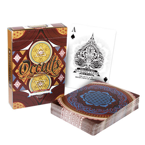 【USPCC 撲克】unbranded occults playing cards 神秘的撲克