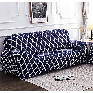 【三房兩廳】左轉遇見你舒適彈性沙發套-1+2+3人座/四色任選珍愛藏青