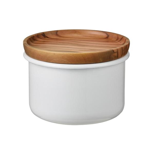 日本HARIO Bona琺瑯100保鮮罐