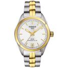 TISSOT 天梭 PR100 Powermatic 80小時機械女錶-銀x雙色/33mm T1012072203100