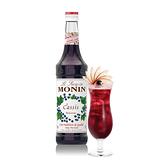 Monin糖漿-黑醋栗700ml (專業調酒比賽 及 世界咖啡師大賽 指定專用產品)