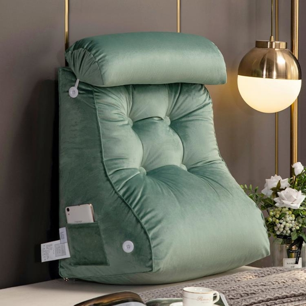 護腰床頭靠墊床頭板軟包床上靠枕沙發大靠背墊榻榻米床靠背可拆洗 滿天星