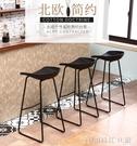 靠牆吧台桌家用簡約創意小吧台酒吧奶茶店桌椅組合細長條桌窄桌子 【全館免運】YJT