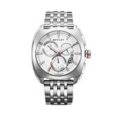 新品上市 ◢BENTLEY 賓利◣Solstice系列 三眼計時手錶 BL1681-70000