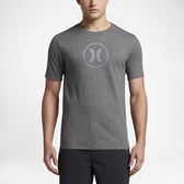 Hurley CIRCLE ICON DRI-FIT T恤-DRI-FIT-灰(男)