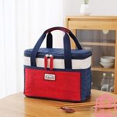 便當袋飯盒袋手提包保溫袋大號大容量鋁箔隔熱加厚野餐袋【匯美優品】