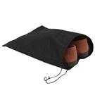 【DG213】攜帶型防潮透氣 加厚無紡布鞋袋-1入 不織布束口袋 平口袋 收納袋 EZGO商城