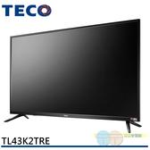 限區配送不安裝/TECO 東元 43型 IPS 液晶電視 液晶顯示器+視訊盒 TL43K2TRE