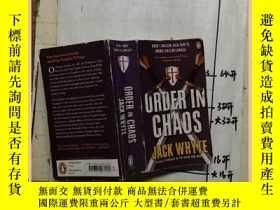 二手書博民逛書店ORDER罕見IN CHAOS 混沌秩序Y16354 Jack