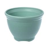 仿陶土花盆6吋(綠)