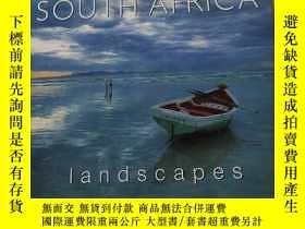 二手書博民逛書店SOUTH罕見AFRICA Landscapes:南非的風景Y212829