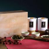 過年禮盒【茶鼎天】閑靜逸趣-杉林溪茶禮盒-年節送禮的最佳選擇-(150gx2罐)