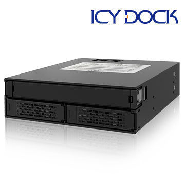 [nova成功3C] ICY DOCK MB994IPO-3SB 2x2.5吋 SATA/SAS HDD/SSD+薄型光碟機空間模組