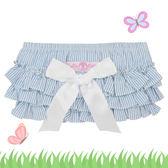 嬰幼兒蓬蓬裙 / 荷葉邊蛋糕褲裙- 美國RuffleButts(藍)