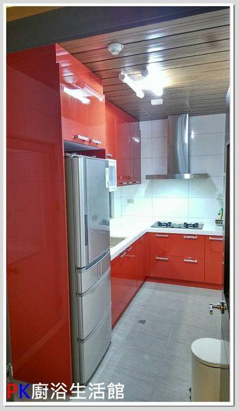 ❤ PK廚浴生活館 ❤ 高雄 流理台 廚具 L型流理台 LG台面 白鐵桶身※實體店面