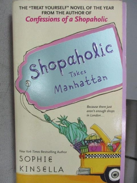 【書寶二手書T5/原文小說_MNO】Shopaholic takes Manhattan