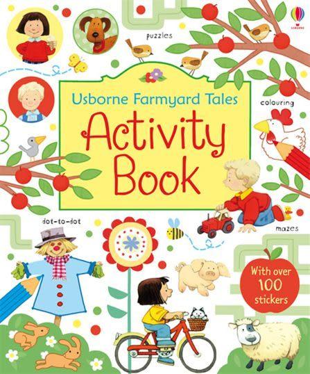 Farmyard Tales Activity Book 農場故事趣味活動書