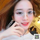 太陽鏡 漸變透明太陽眼鏡女2019新款 超輕網紅墨鏡ins 韓版潮復古原宿風 聖誕免運