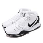 Nike 籃球鞋 Kyrie 6 EP Oreo 白 黑 男鞋 Irving 6代 KI6 運動鞋【PUMP306】 BQ4631-100