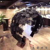 鏤空針織發箍頭箍女士韓版簡約發飾
