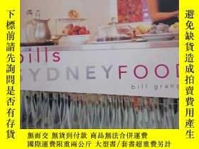 二手書博民逛書店bills罕見SYDNEY FOOD 悉尼菜譜Y287213 特