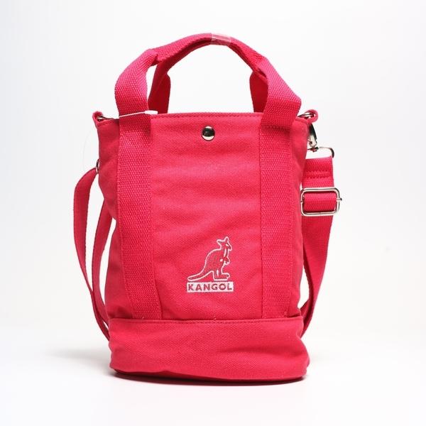 KANGOL 紅色 手提袋 手提袋 帆布 英國 (布魯克林) 6925300840
