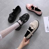 日系洛麗塔小皮鞋女復古森女軟妹可愛大頭娃娃鞋學生厚底lolita鞋