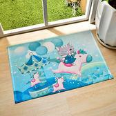 義大利Fancy Belle X DreamfulCat《飛吧!小木馬》強力吸水止滑地墊