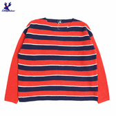 【三折特賣】American Bluedeer - 搶眼條紋毛線上衣(特價) 秋冬新款