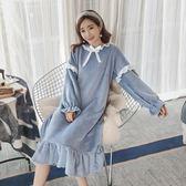 珊瑚絨睡衣女冬季甜美可愛日系公主風家居服【聚寶屋】