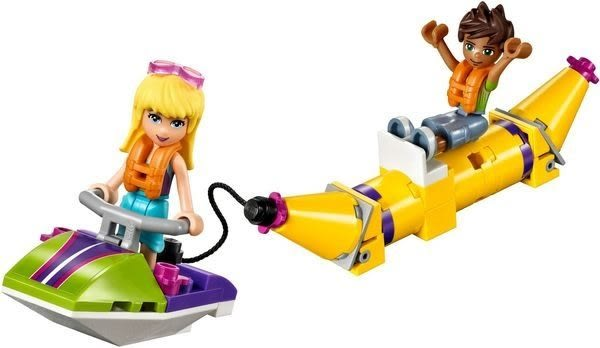 【LEGO樂高】FRIENDS 陽光遊艇 41317