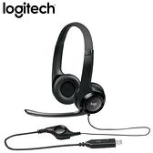 [富廉網] 羅技 LOGITECH H390 USB 耳機麥克風