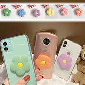 蘋果 iPhone 11 Pro Max SE2 XS MAX IX XR XS i8 Plus i7+ 花朵透明殼 手機殼 保護殼 透明殼+支架