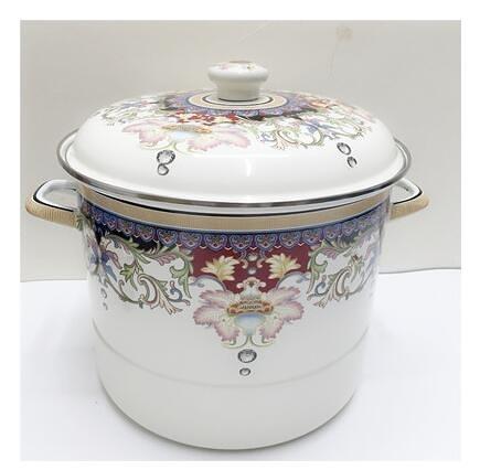 太平盛世湯鍋 琺瑯瓷鍋 搪瓷蒸鍋 無涂層鍋具 電磁爐通用